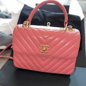 2019 Chanel Flapbag with handle